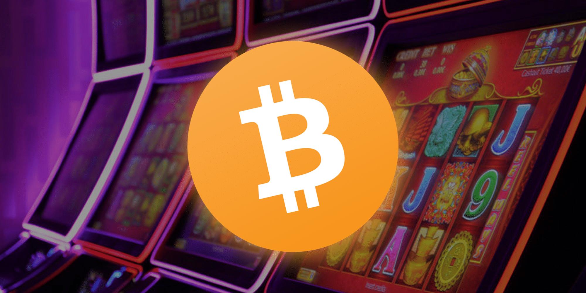 Bitcoin Spielautomat 3d obj